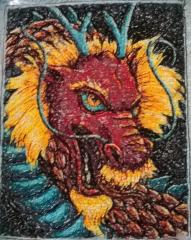 Dragon photo stitch free embroidery design