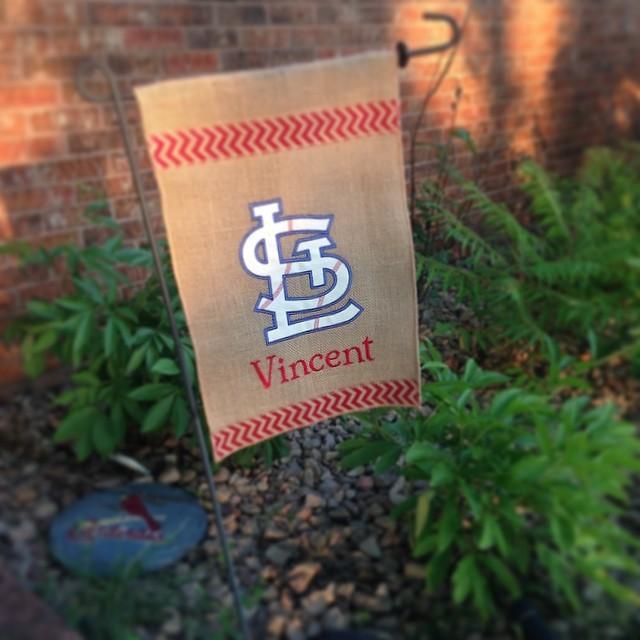 St Louis Cardinals Cap Insignia Machine Embroidery Design
