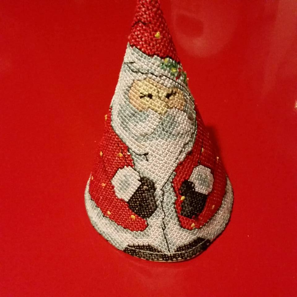 Santa Claus 3D free embroidery design