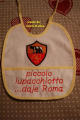 A.S. Roma machine embroidery design