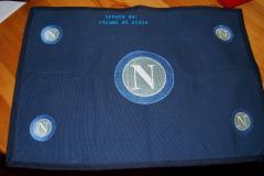 Napoli Soccer Club logo machine embroidery design