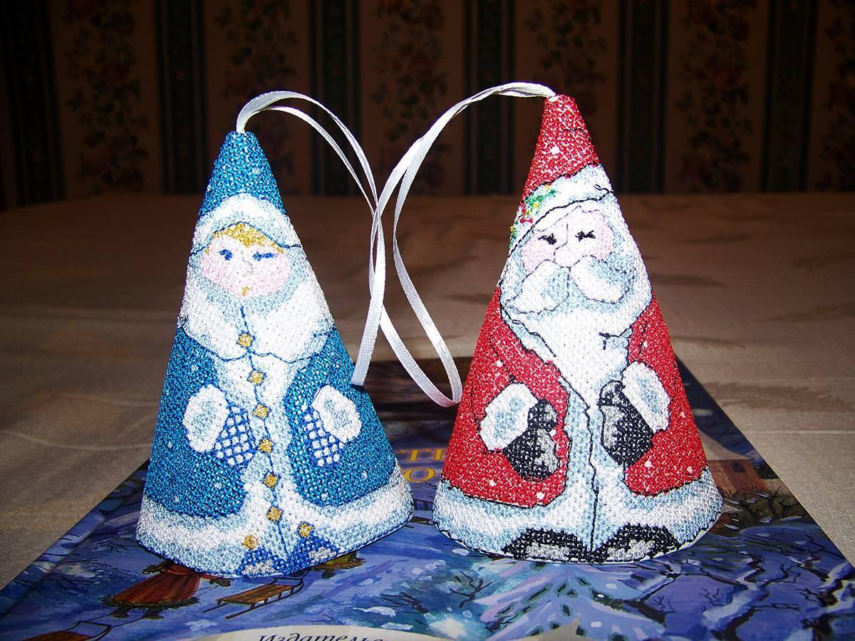 Christmas set 3d cross stitch free embroidery design