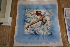 Ballerina photo stitch free embroidery