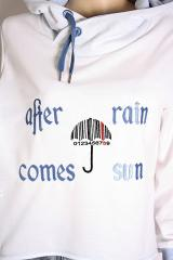 Umbrella barcode free machine embroidery design