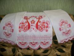 Towel firebird free embroidery design
