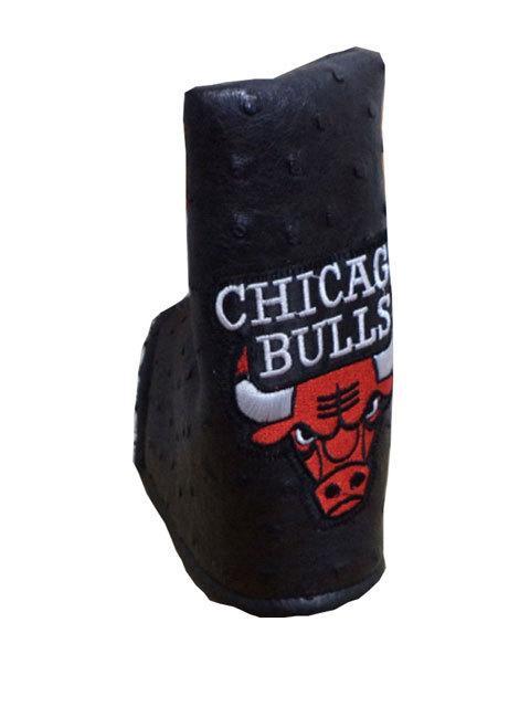 Chicago Bulls logo machine embroidery design