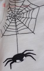Spider free embroidery design