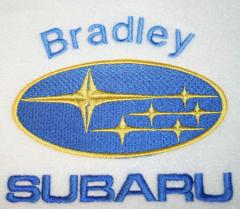Subaru logo machine embroidery design