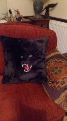 Wild Cat free machine embroidery design