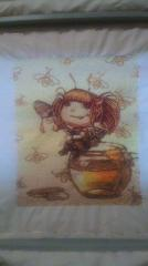 Honey fairy photo stitch free embroidery design