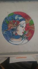 Nabira photo stitch free embroidery