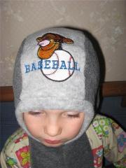 Tigger Baseball Logo machine embroidery design