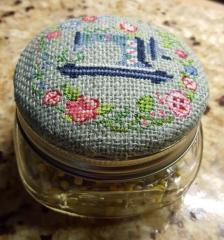 Sewing cross stitch free embroidery