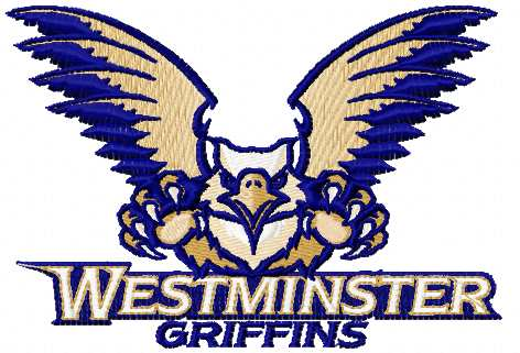 Westminster griffins logo embroidery design