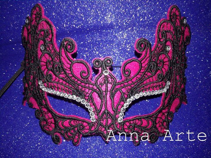 Mask machine embroidery design