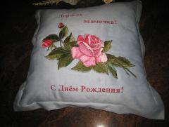 Mega Rose machine embroidery design
