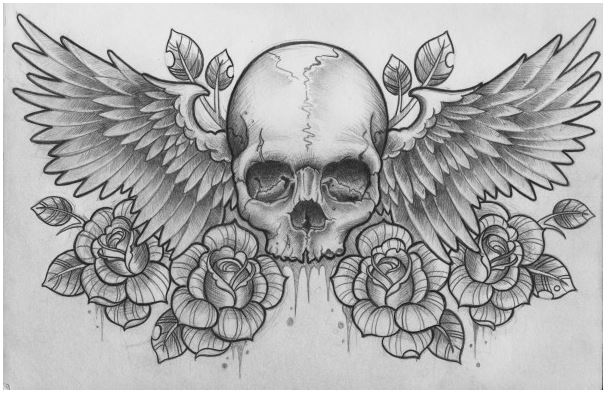 Skull and Roses take flight