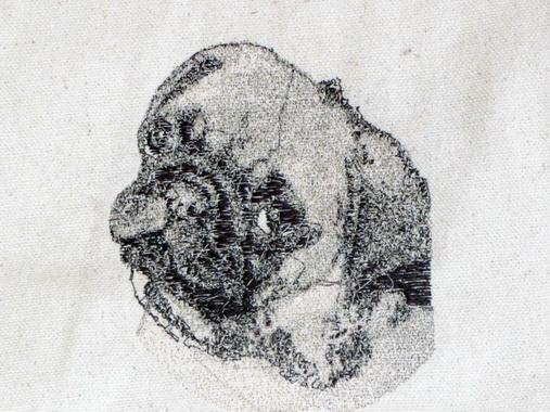 Free Pug machine embroidery design