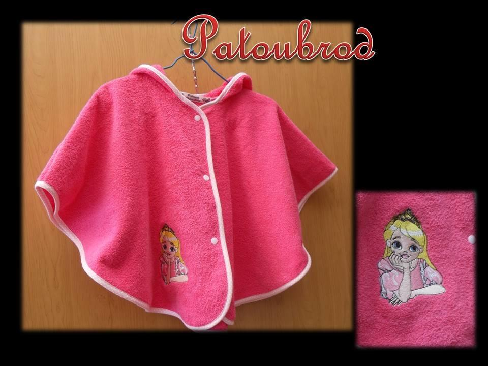 Outfit with Princess  embroidery design