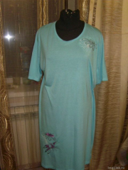 Dress with Chamomiles embroidery design