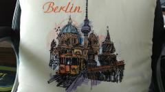 Berlin view embroidery design