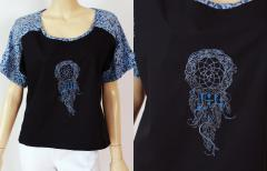 Blouse with Dreamcatcher embroidery design