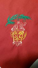 Christmas Lantern free embroidery design