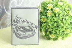 Book cover with racing car free embroidery design
