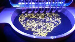 In hoop Heart of flowers embroidery design