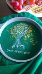 In hoop Tree of our love embroidery design
