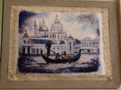 Framed Venezia photo stitch free embroidery design