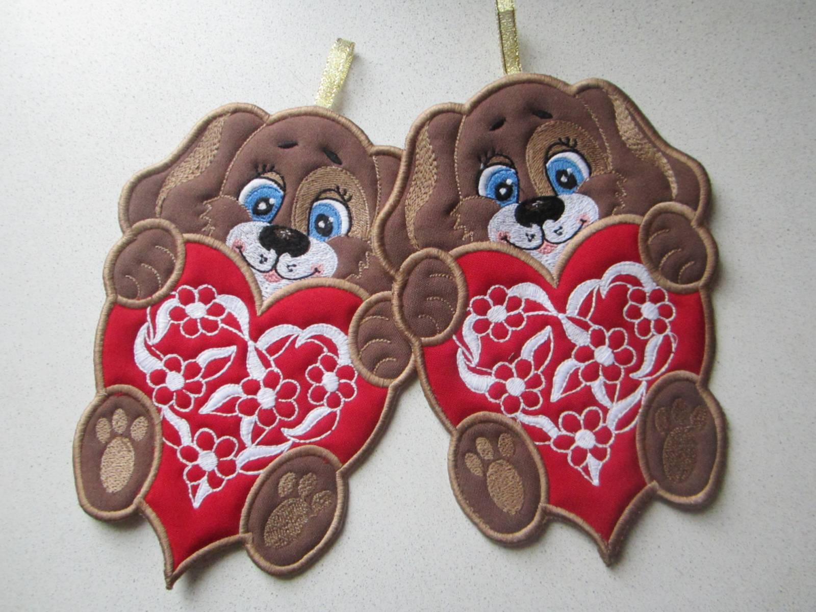 Conversation hearts applique digistitches machine embroidery designs