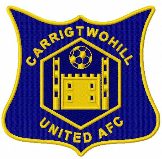 Carrigtwohill AFC logo embroidery design