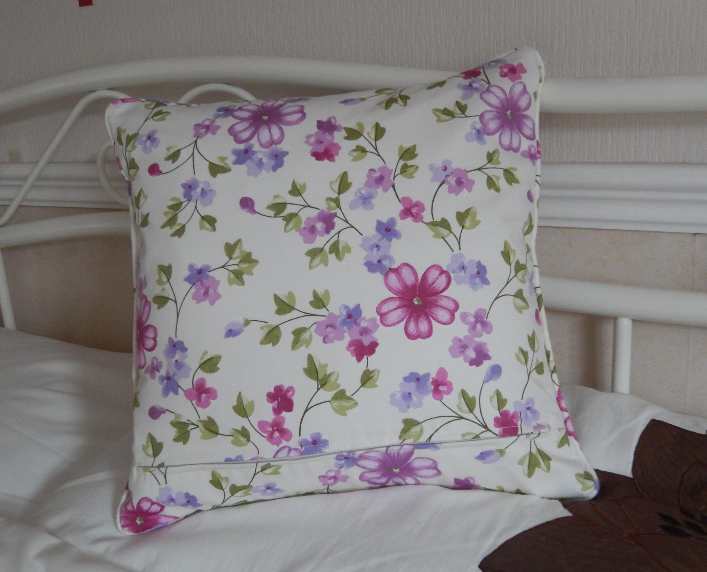 Back - floral cotton