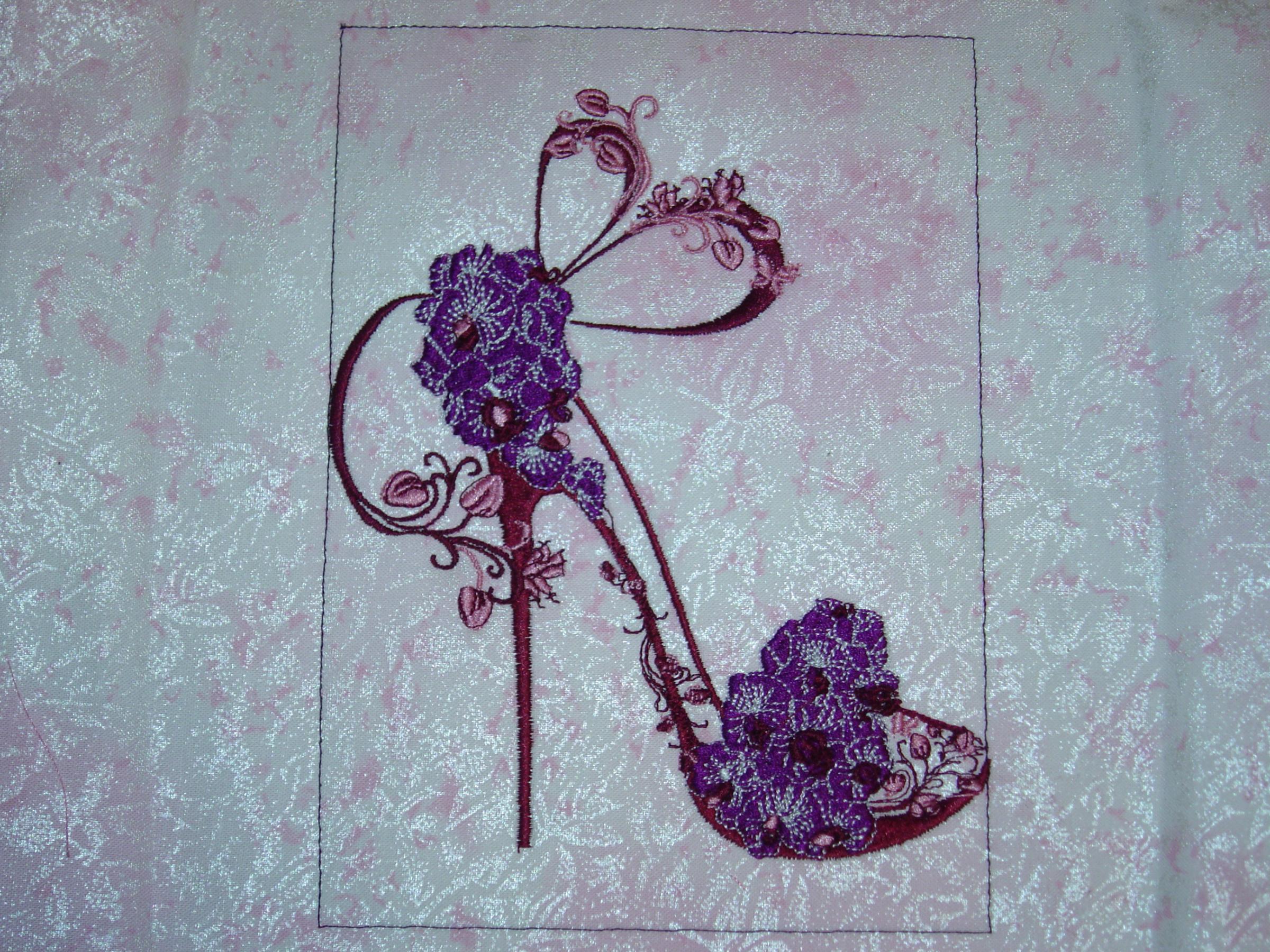 Fancy shoe I gorde sign