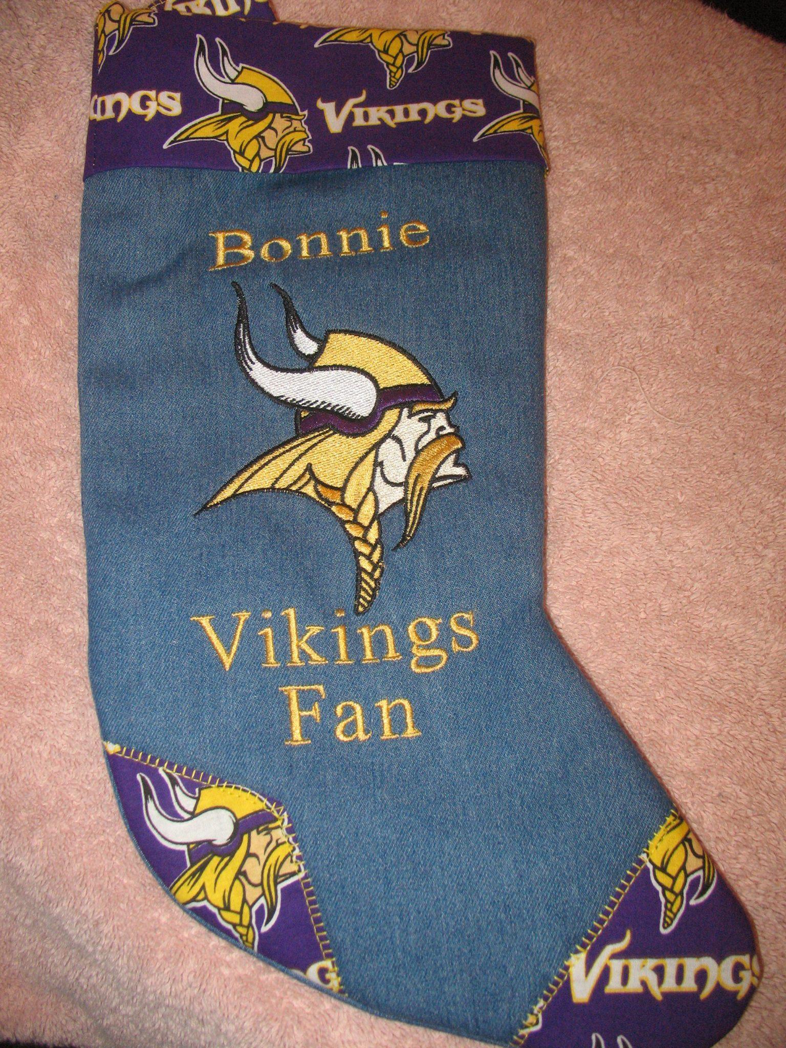 Socks with Minnesota Vikings