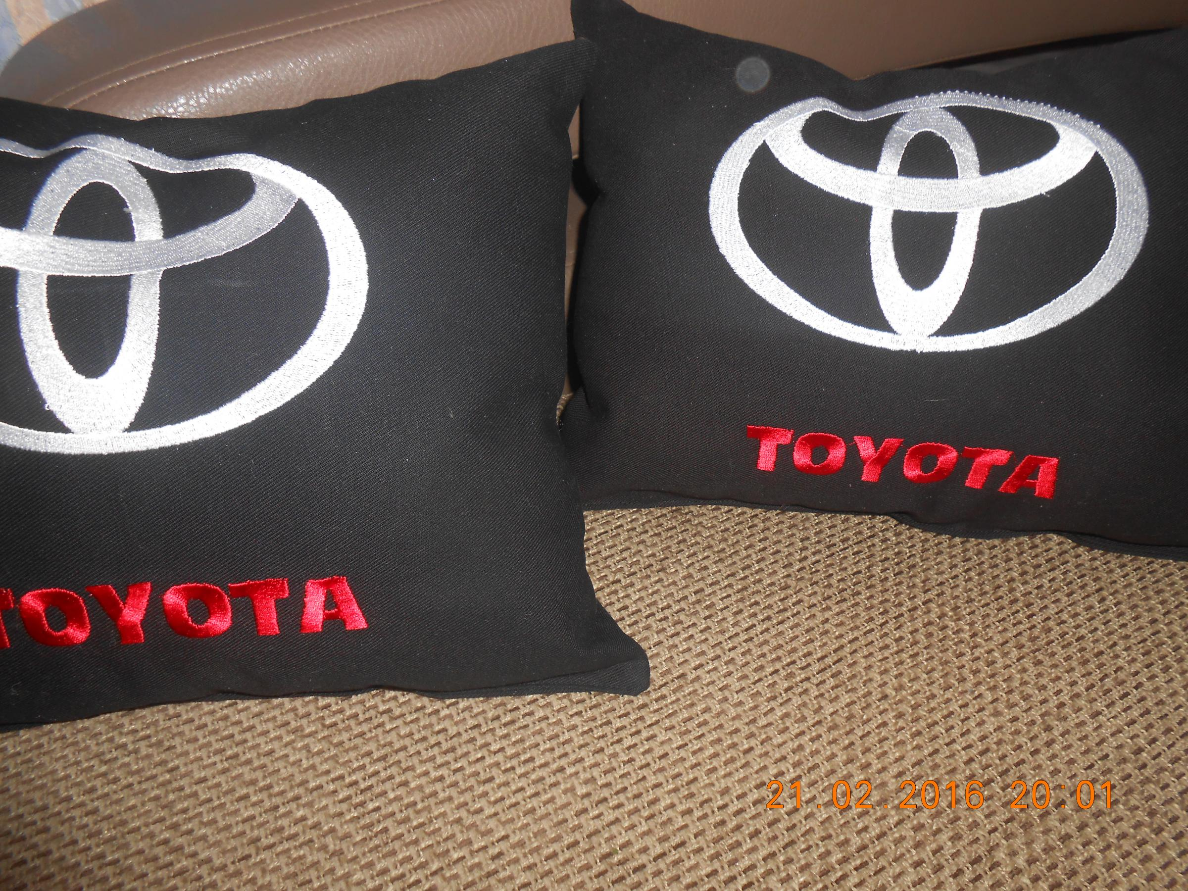 Toyota Logo machine embroidery design