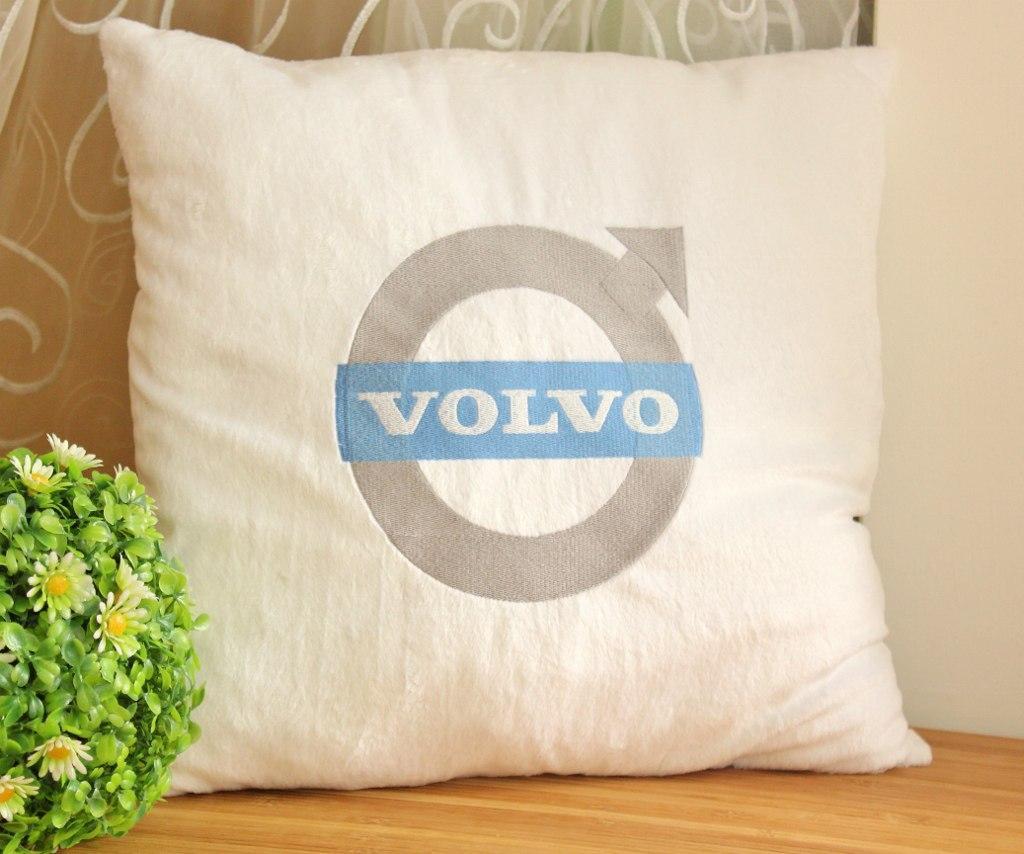Volvo Logo machine embroidery design