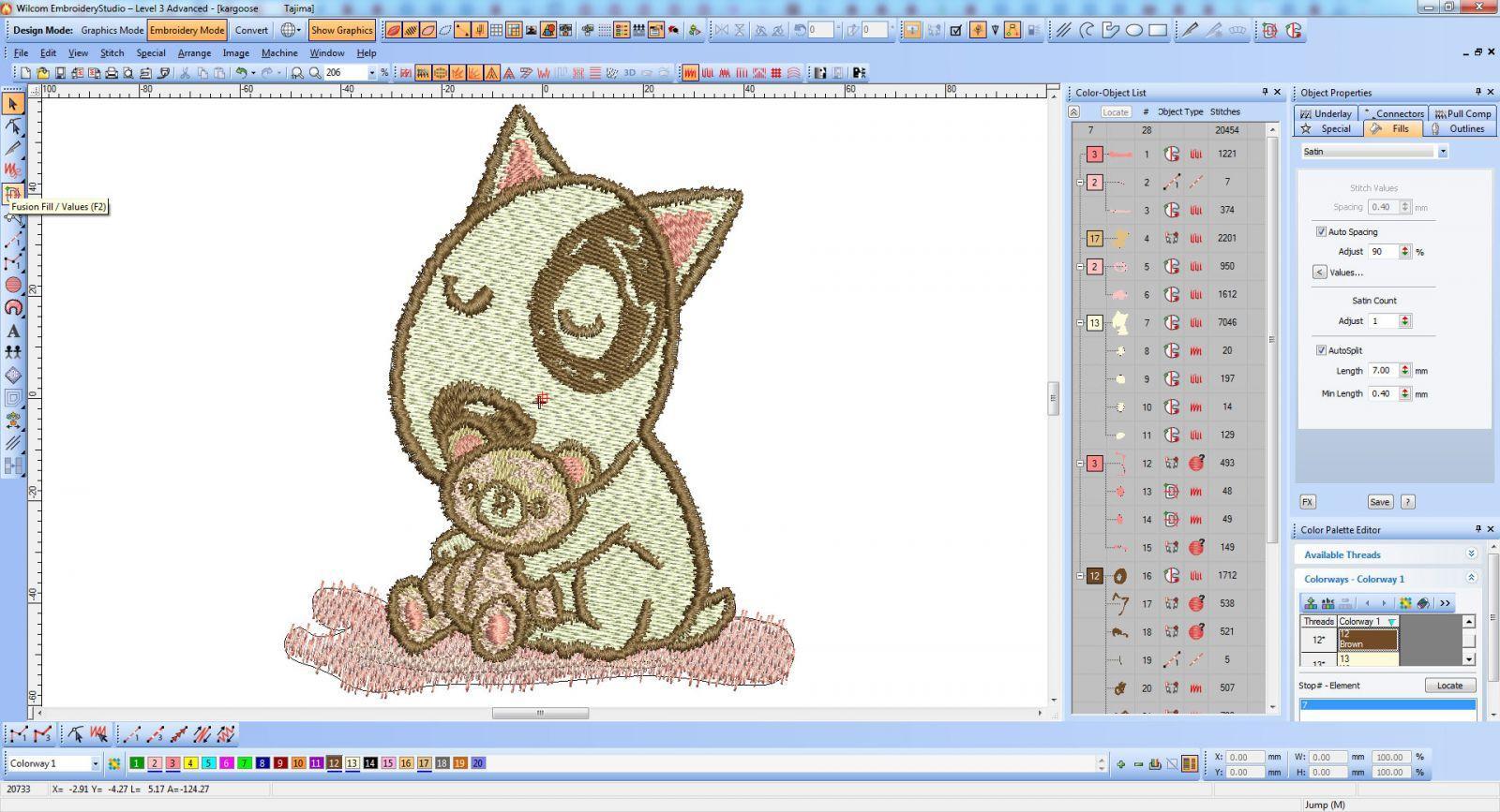 Screenshot Dog and Teddy toy