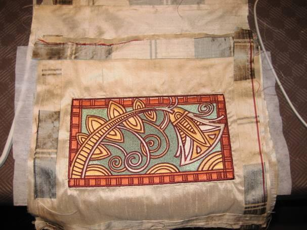 Egyptian decoration embroidered for Australian Craft Fair