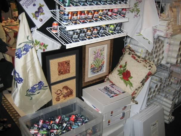 Ordeus stand at Australian Embroidery and Sewing Craftfair