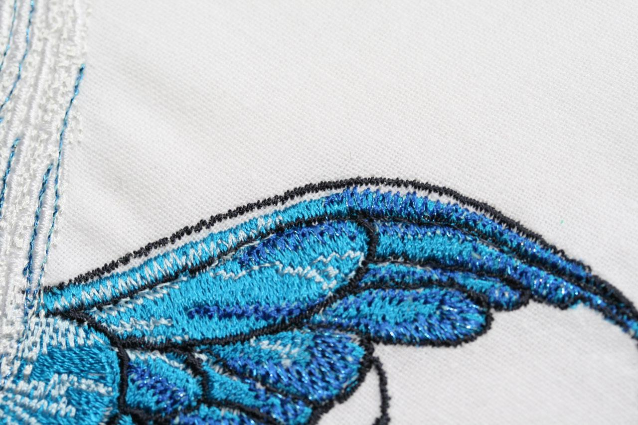 Embroidery part of Fairy wings