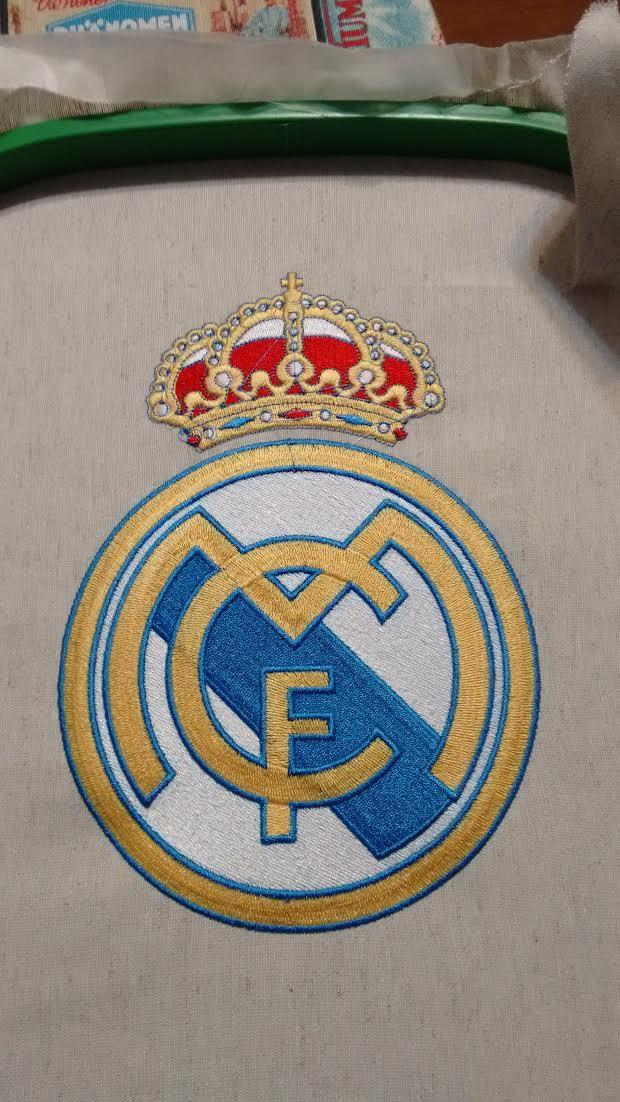 Real Madrid embroidered logo