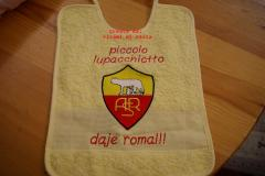 A.S. Roma embroidery design