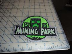 Minecraft machine embroidery design