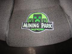 Mining park machine embroidery design