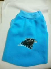 Carolina Panthers logo embroidered at jacket