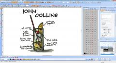 John Collins coctail embroidery screenshot