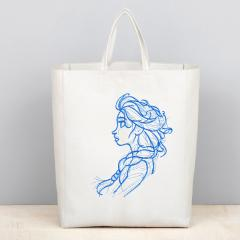 Embroidered bag with Anna from Frozen