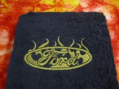 Emroidered Ford logo
